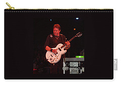 George Thorogood Performing Carry-all Pouch by John Telfer