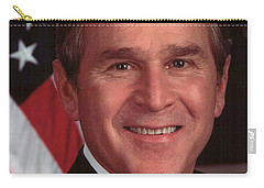 George W Bush Carry-all Pouch by Official Gov Files