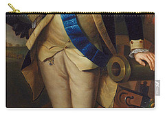 George Washington Carry-all Pouch by Charles Wilson Peale