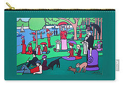 George Seurat- A Cyclops Sunday Afternoon On The Island Of La Grande Jatte Carry-all Pouch