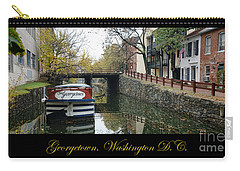 Georgetown Canal Poster Carry-all Pouch