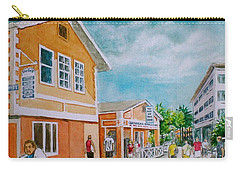 Georgetown Grand Cayman Carry-all Pouch by Frank Hunter
