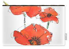 Georgetown Texas The Red Poppy Capital Carry-all Pouch