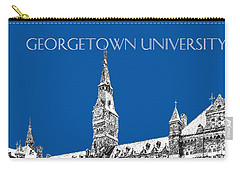 Georgetown University - Royal Blue Carry-all Pouch