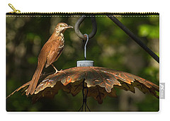 Georgia State Bird - Brown Thrasher Carry-all Pouch