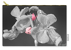 Geranium Carry-all Pouch by Cindy Manero