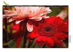 Gerbera Daisies Carry-all Pouch by Patrice Zinck