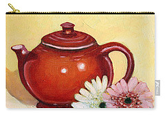 Gerberas Carry-all Pouch by Katherine Miller