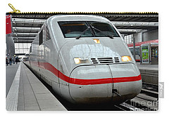 German Ice Intercity Bullet Train Munich Germany Carry-all Pouch