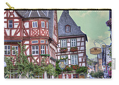 German Village Along Rhine River Carry-all Pouch