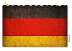 Germany Flag Vintage Distressed Finish Carry-all Pouch by Design Turnpike