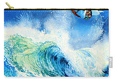 Carry-all Pouch featuring the painting Getting Air by Hanne Lore Koehler