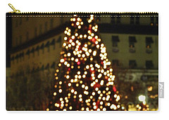 Carry-all Pouch featuring the photograph Gettysburg Pa  Christmas Tree by John Williams