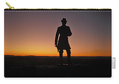 Gettysburg Sunset Carry-all Pouch by Ed Sweeney