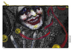 Ghost Harlequin Carry-all Pouch by Carol Jacobs