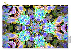 Ghost Plant Kaleidoscope 1 Carry-all Pouch