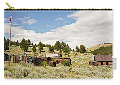Ghost Town In Summer Carry-all Pouch by Sue Smith