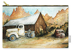 Ghost Town Nevada - Western Art Carry-all Pouch
