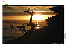 Ghost Tree At Sunset Carry-all Pouch