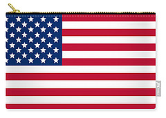 Giant American Flag Carry-all Pouch