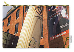 Giant Baseball Bat Adorns Carry-all Pouch