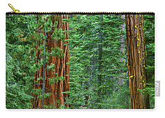 Giant Sequoias Sequoiadendron Gigantium Yosemite Np Ca Carry-all Pouch