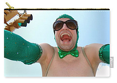 Carry-all Pouch featuring the photograph Giant Smile by Ed Weidman