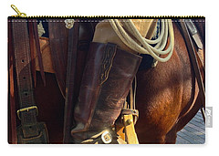Carry-all Pouch featuring the photograph Giddyup by Dee Dee  Whittle