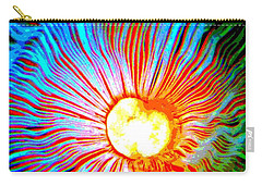 Carry-all Pouch featuring the photograph Gills by Deena Stoddard