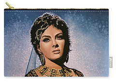 Gina Lollobrigida Painting Carry-all Pouch