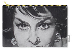 Gina Lollobrigida Carry-all Pouch by Sean Connolly