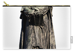 Carry-all Pouch featuring the photograph Giordano Bruno by Fabrizio Troiani