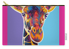 Giraffe - Marius Carry-all Pouch by Alicia VanNoy Call