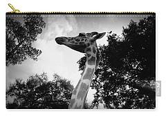 Giraffe Bw - Global Wildlife Center Carry-all Pouch