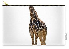 Carry-all Pouch featuring the photograph Giraffe by Charles Beeler