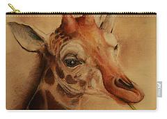 Giraffe Carry-all Pouch by Jean Cormier