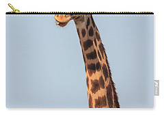 Giraffe Tongue Carry-all Pouch by Adam Romanowicz