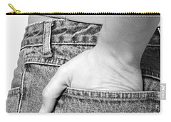 Girl With Hand In Back Pocket Carry-all Pouch