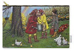 Girls Are Better Carry-all Pouch by Linda Simon