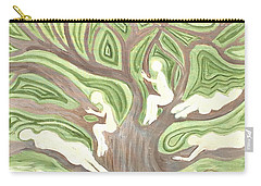 Girls In A Tree Carry-all Pouch