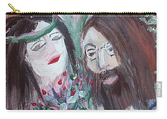 Give Peace A Chance Carry-all Pouch by Judith Desrosiers