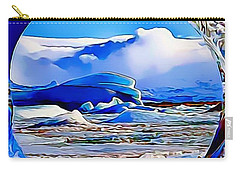 Glacier Carry-all Pouch by Catherine Lott
