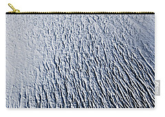 Carry-all Pouch featuring the photograph Glacier by Gunnar Orn Arnason