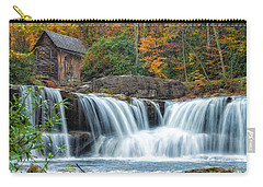 Glade Creek Grist Mill And Waterfalls Carry-all Pouch