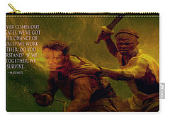 Carry-all Pouch featuring the photograph Gladiator  by Brian Reaves