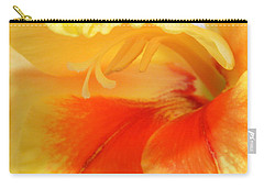 Gladiola Hello Carry-all Pouch by Deborah  Crew-Johnson