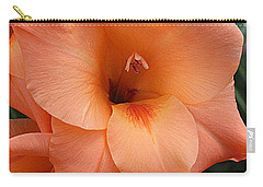 Gladiola In Peach Carry-all Pouch
