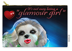Glamour Girl-3 Carry-all Pouch