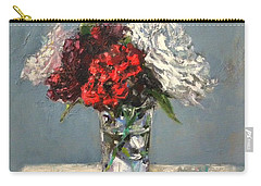 Glass Of Flowers Carry-all Pouch