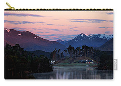 Carry-all Pouch featuring the photograph Glen Affric by Gavin Macrae